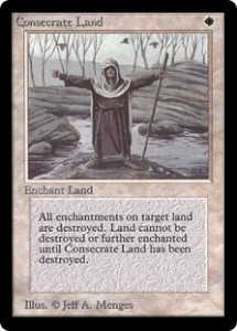 Consecrate Land Original