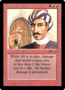 Fixing Old Cards: Arabian Nights Red