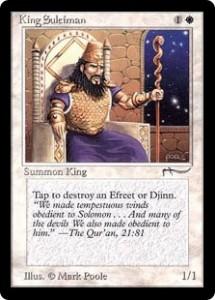 King Suleiman Original