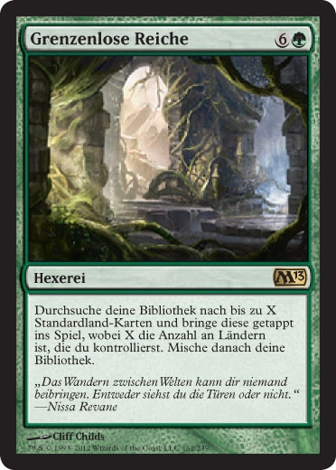 M13: Ramp, Mill, Exalted Land und Promos