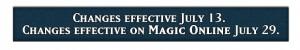 Regeländerungen mit Magic 2014