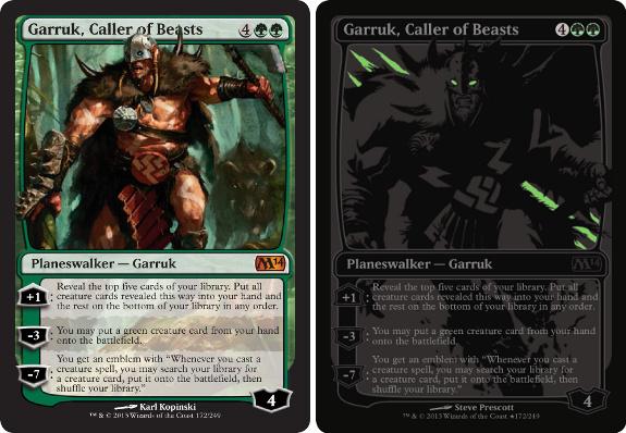 Garruk, Caller of Beasts und Vegas