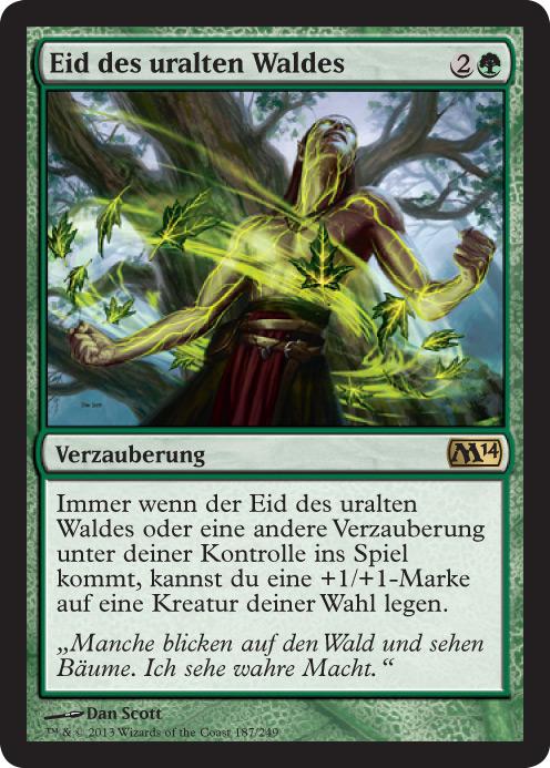 Eid des uralten Waldes
