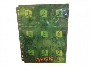 9 Pocket Sheet