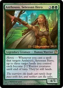 Promo - Anthousa, Setessan Hero