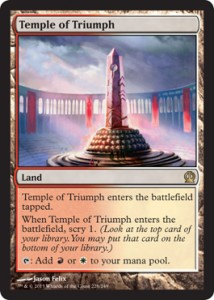 Scry Lands, Prophet of Kruphix