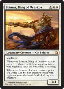 Brimaz, Heroisch Enabler und Beiwerk