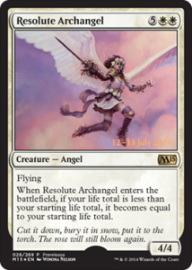 Prerelease Resolute Archangel
