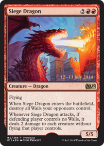 Prerelease Siege Dragon