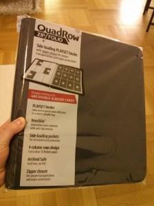 Gewinnspiel: Ultimate Guard QuadRow Zipfolio