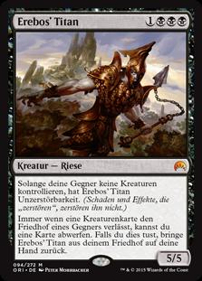 Exklusive Magic Ursprünge Vorschau – Erebos' Titan