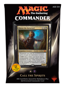 WB Commander Deck