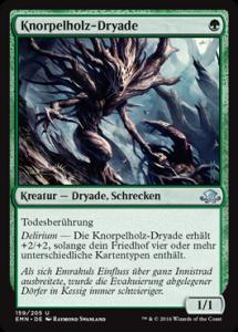 Knorpelholz-Dryade