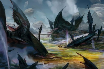Retreat-to-Hagra-Battle-for-Zendikar-MtG-Art