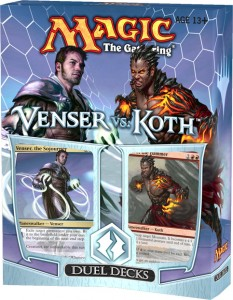 Duel Deck: Venser vs Koth im Preview